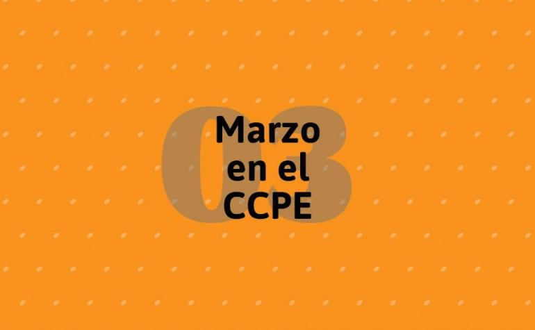 Carátula Marzo en el Centro Cultural Parque de España